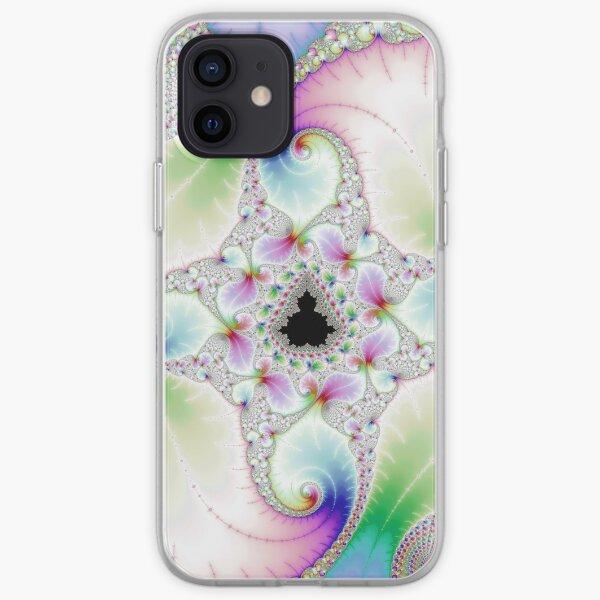 Mandelbrot Set in Fractal Pastel Wonderland iPhone Soft Case