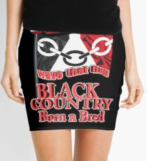 WTF (Wave That Flag) Black Country Born N Bred Mini Skirt