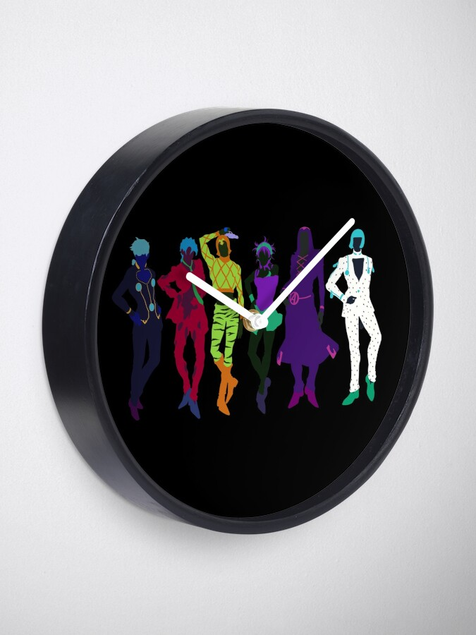 Alternate view of Passione Gang Clock