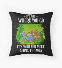Who You Meet, v2 Floor Pillow