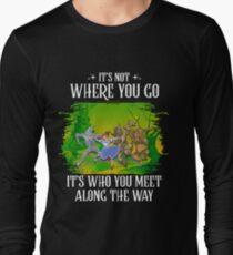 Who You Meet, v2 Long Sleeve T-Shirt