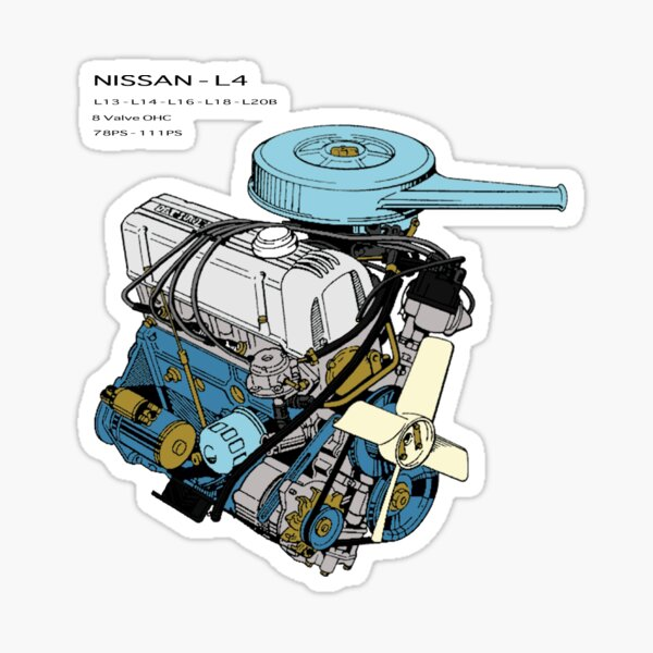 Nissan L4 Assembled Sticker