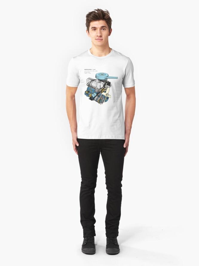 Alternate view of Nissan L4 Assembled Slim Fit T-Shirt