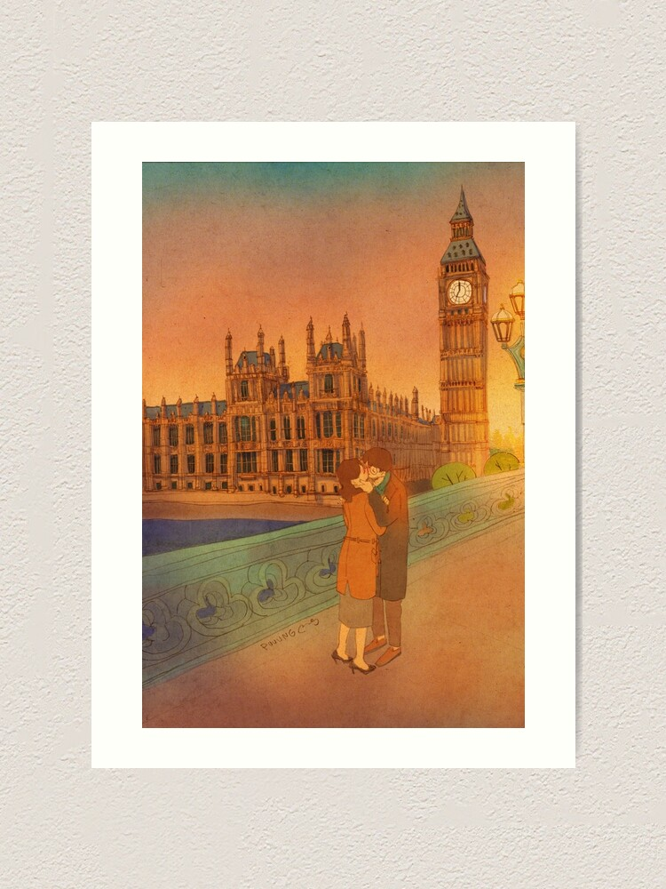 Alternate view of Big ben, London Art Print