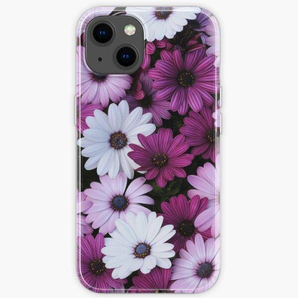 Purple Flowers iPhone Soft Case
