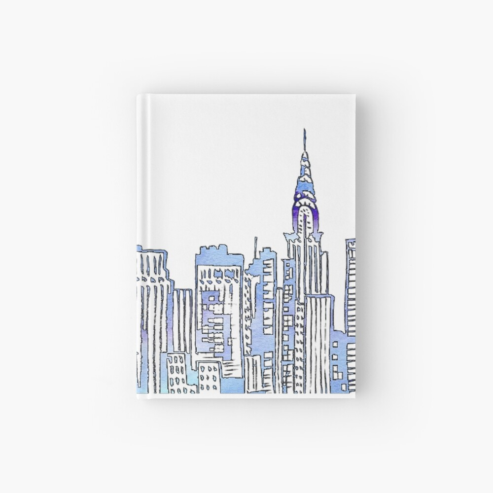 NYC Skyline Hardcover Journal