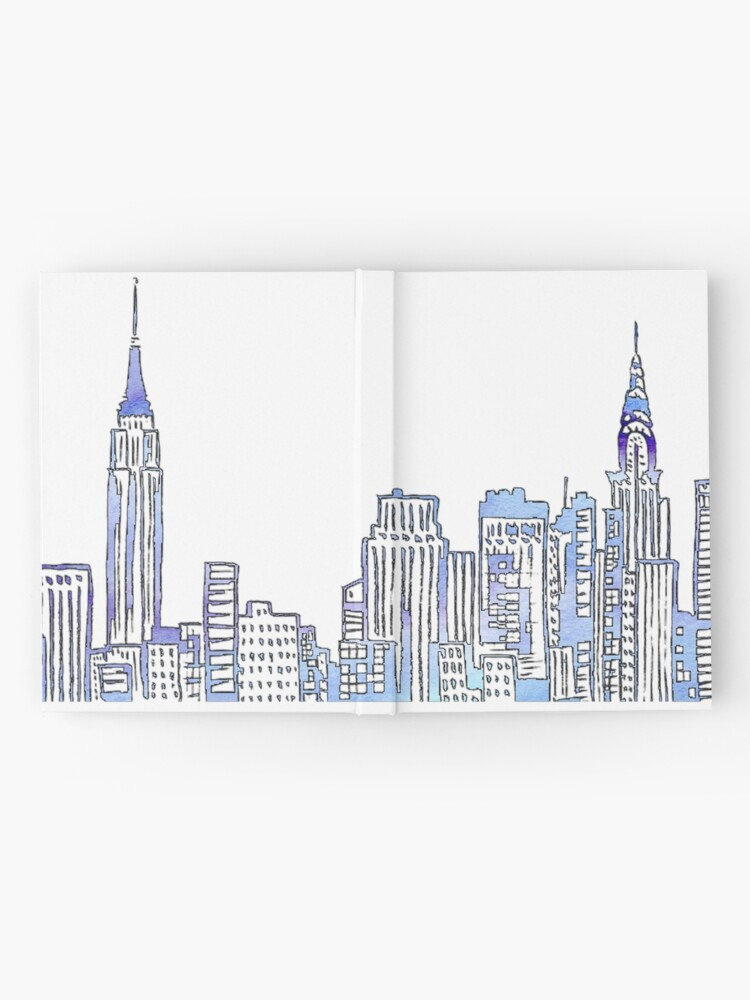 Alternate view of NYC Skyline Hardcover Journal