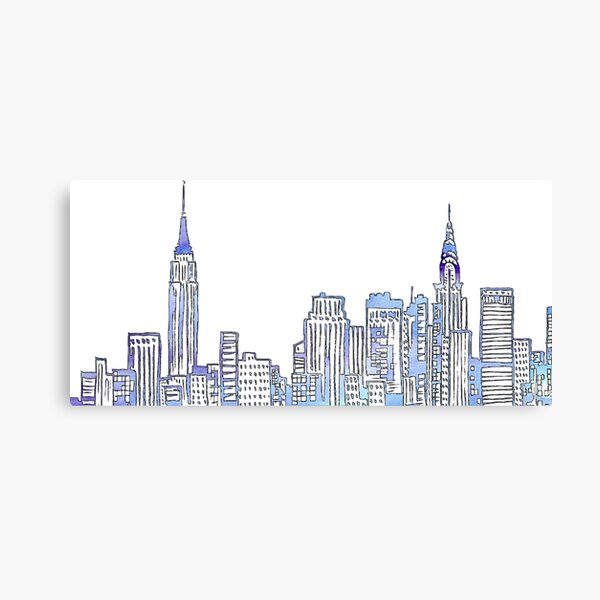 NYC Skyline Canvas Print