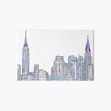 NYC Skyline Art Board Print