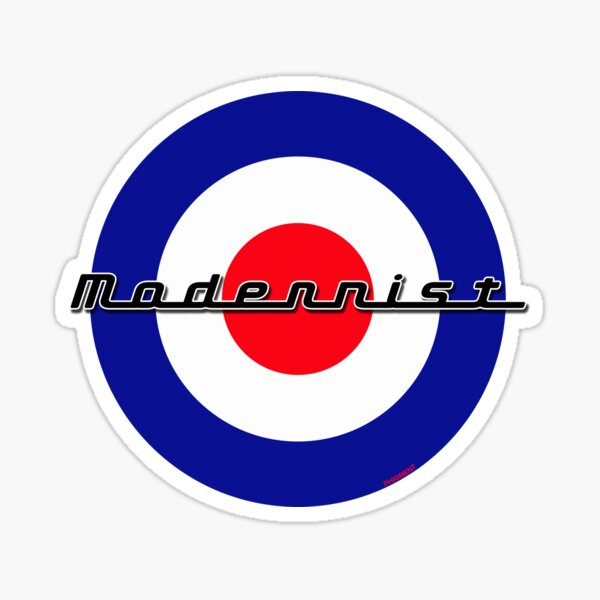 Modernist Target Sticker