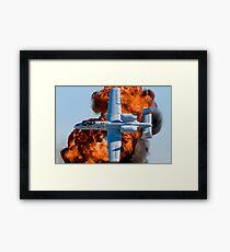 The Hog Attacks Framed Print