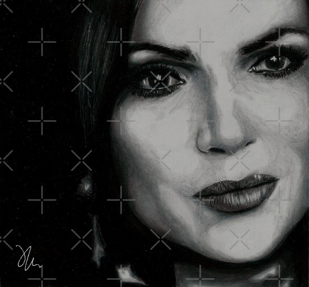 Lana Parrilla by JaymeeArt