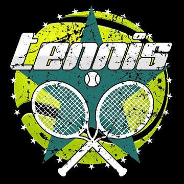 Tennis by S-p-a-c-e
