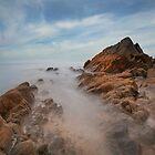 Sandymouth Beach by eddiej