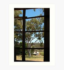 Old Homestead - Frankland River Art Print