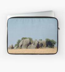 a desolate Tanzania landscape Laptop Sleeve