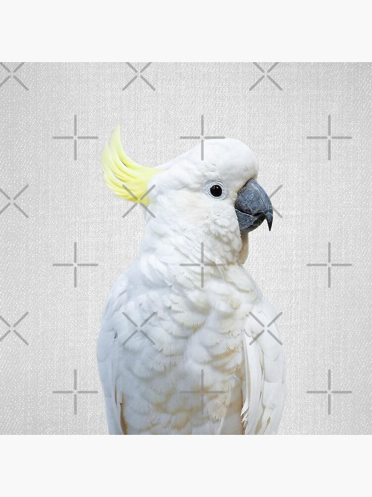 Weißer Kakadu - bunt von galdesign