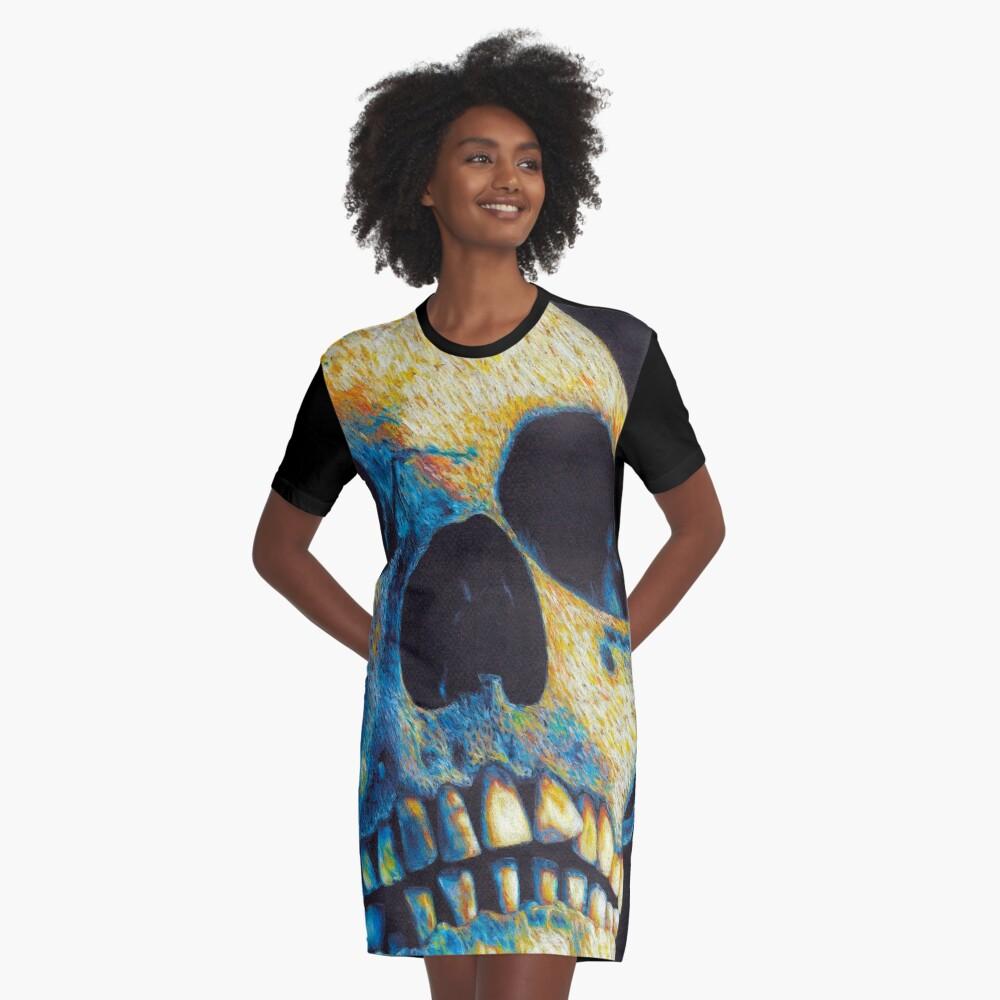 Vestido camisetaIgnis aeternum Delante