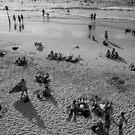sunny beach, TelAviv-Jaffo, 2018 by Victor Bezrukov
