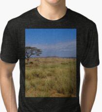an amazing Tanzania landscape Tri-blend T-Shirt