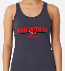 Run With Us - Grey/White Women's Tank Top