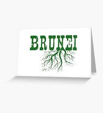 Brunei Roots Greeting Card