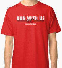 Run With Us - Red Classic T-Shirt