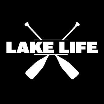 Kayaking Funny Design - Lake Life by kudostees