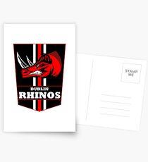 Rhinos Crest  Postcards