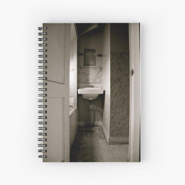 Cramped Sink Spiral Notebook