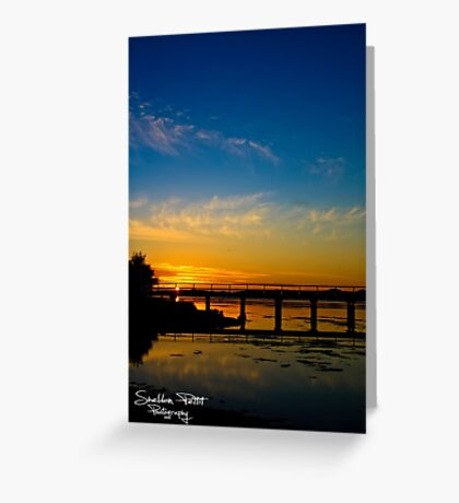 Leschanult Jetty Greeting Card