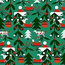 Christmas evergreens by cocodes