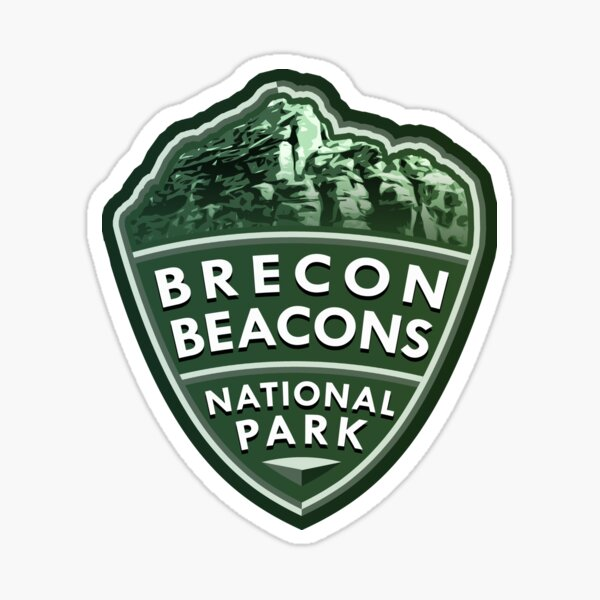 Brecon Beacons National Park Simple Sticker
