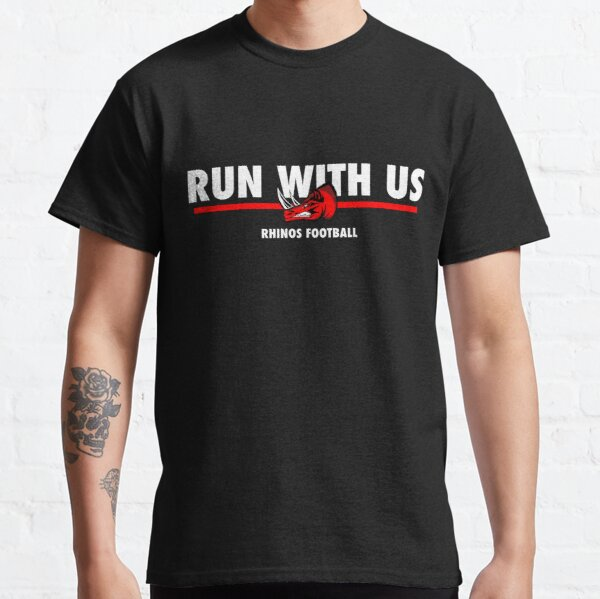 Run With Us - Black Classic T-Shirt
