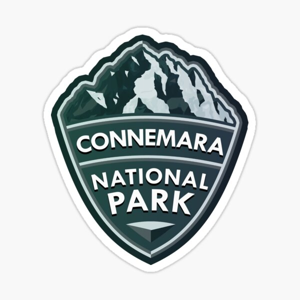 Connemara National Park Simple Sticker