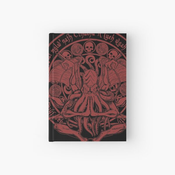 The Idol - Cthulhu Red Variant Hardcover Journal