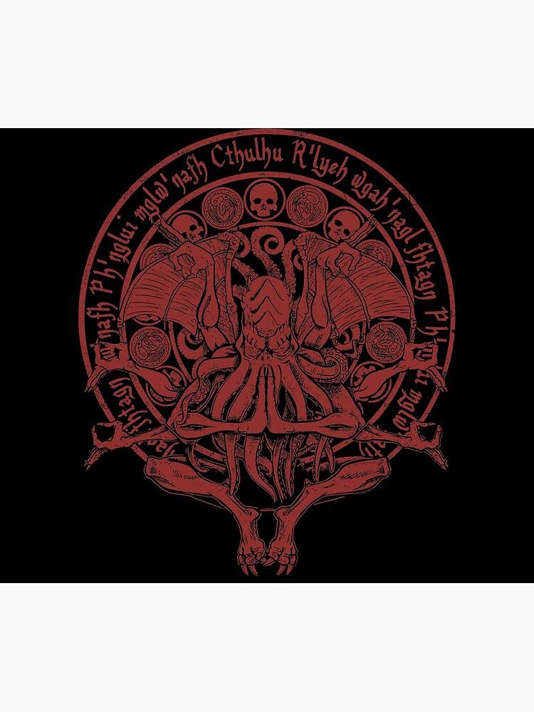 The Idol - Cthulhu Red Variant by APawlicki