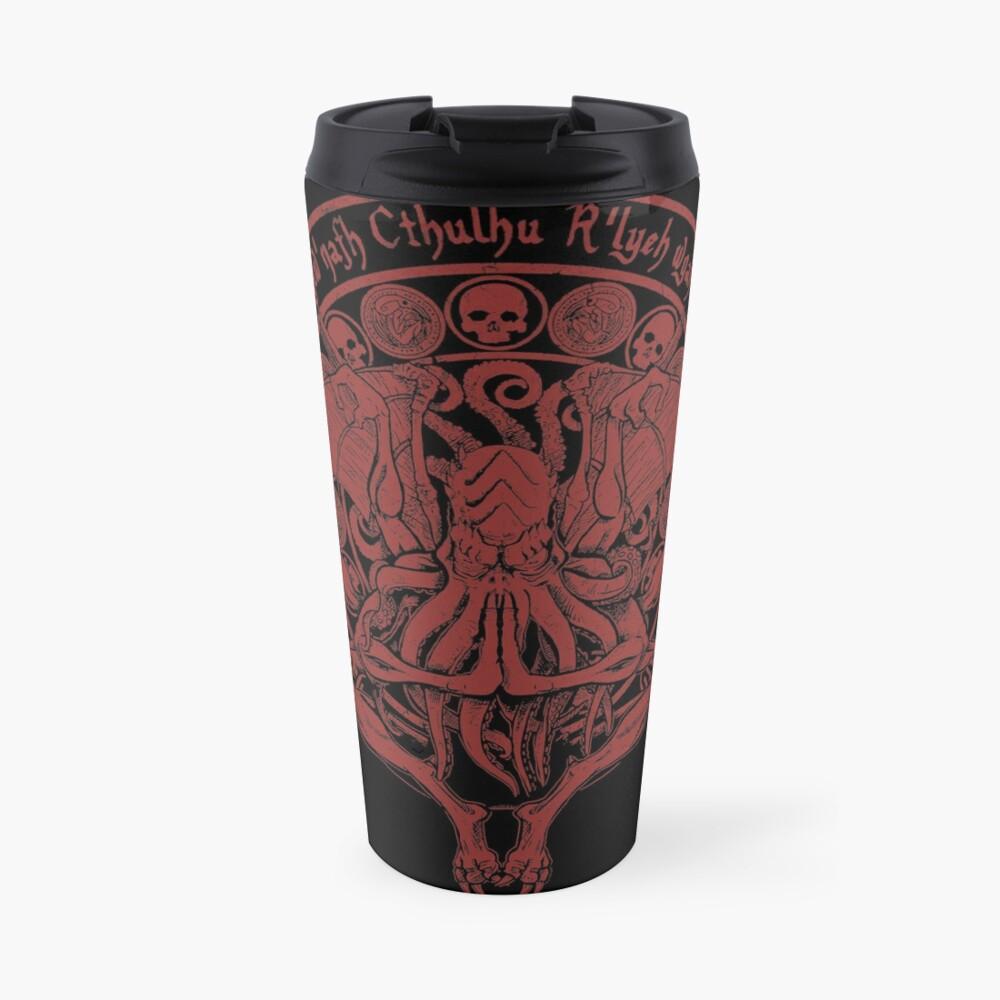 The Idol - Cthulhu Red Variant Travel Mug