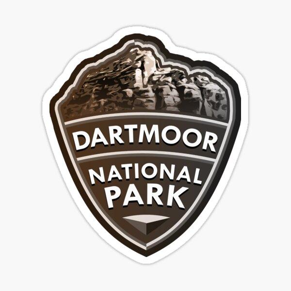 Dartmoor National Park Simple Sticker