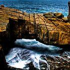 Natural Bridge HDR by Sheldon Pettit