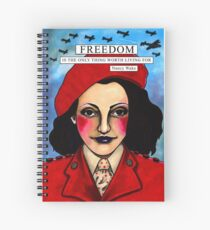 "Nancy ""White Mouse"" Wake Spiral Notebook"