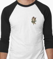 Camiseta ¾ estilo béisbol Goteo demasiado fuerte