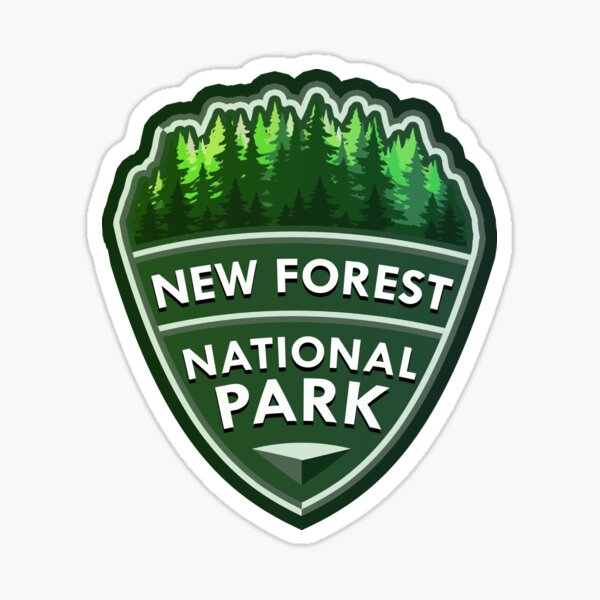 New Forest National Park Simple Sticker