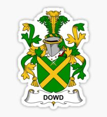 Dowd Coat of Arms - Family Crest Shirt Sticker