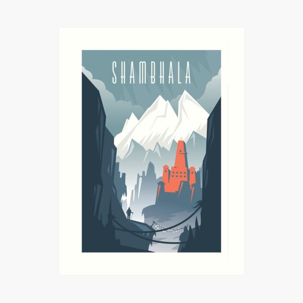 Lost Cities: Shambhala Art Print