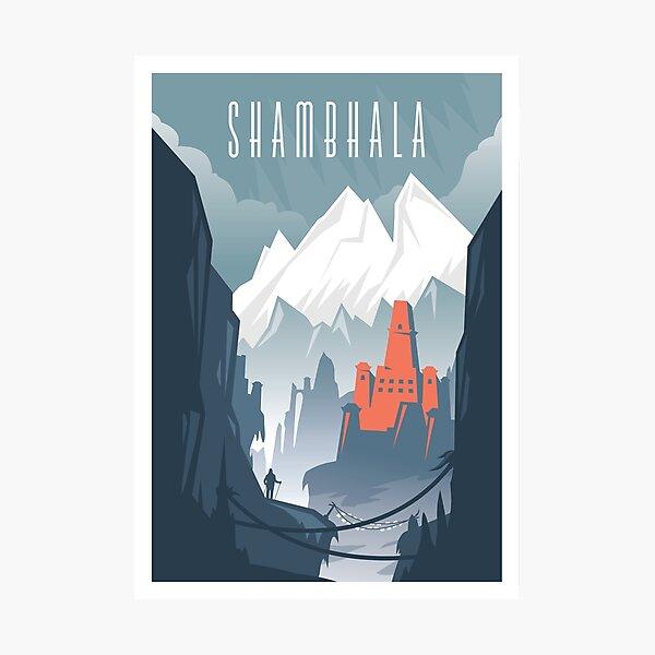 Lost Cities: Shambhala Photographic Print
