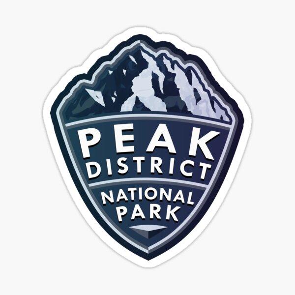 Peak District National Park Simple Sticker