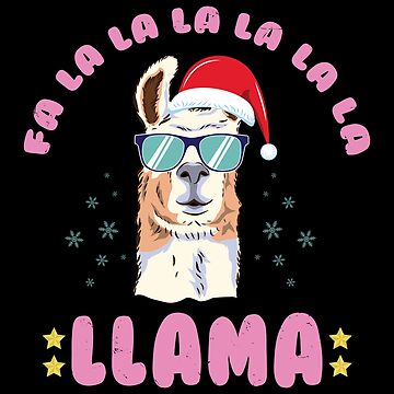 Funny Llama Ugly Christmas Sweater Cute Holiday Alapacas Shirts by Joeby26