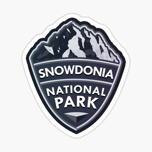 Snowdonia National Park Simple Sticker