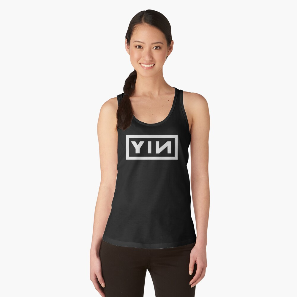Yin Yoga (White) Women's Tank Top Front